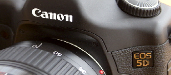 Canon EOS 5D digital SLR camera